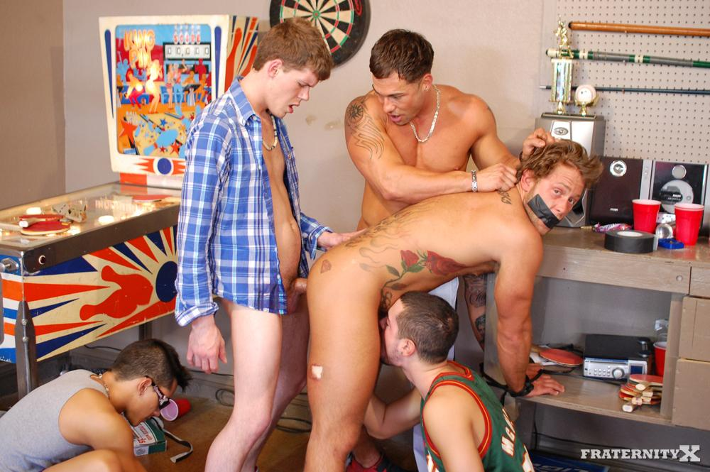 Fraternity X Straight Frat Boys Barebacking Amateur Gay Porn 09 Real Amateur Drunk Fraternity Brothers Take Turns Barebacking
