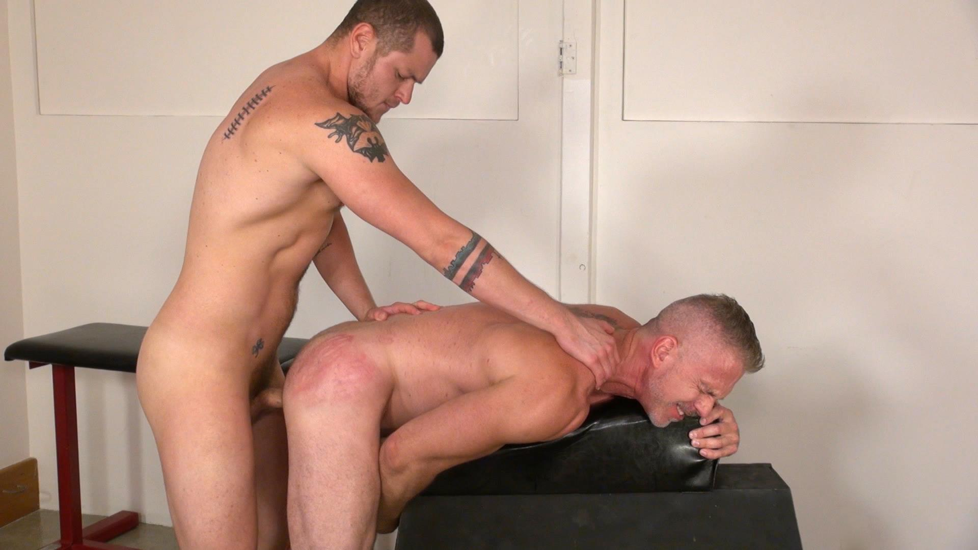 Raw and Rough Sam Dixon and Blue Bailey Daddy And Boy Flip Flip Bareback Fucking Amateur Gay Porn 10 Blue Bailey Flip Flop Barebacking With A Hung Daddy