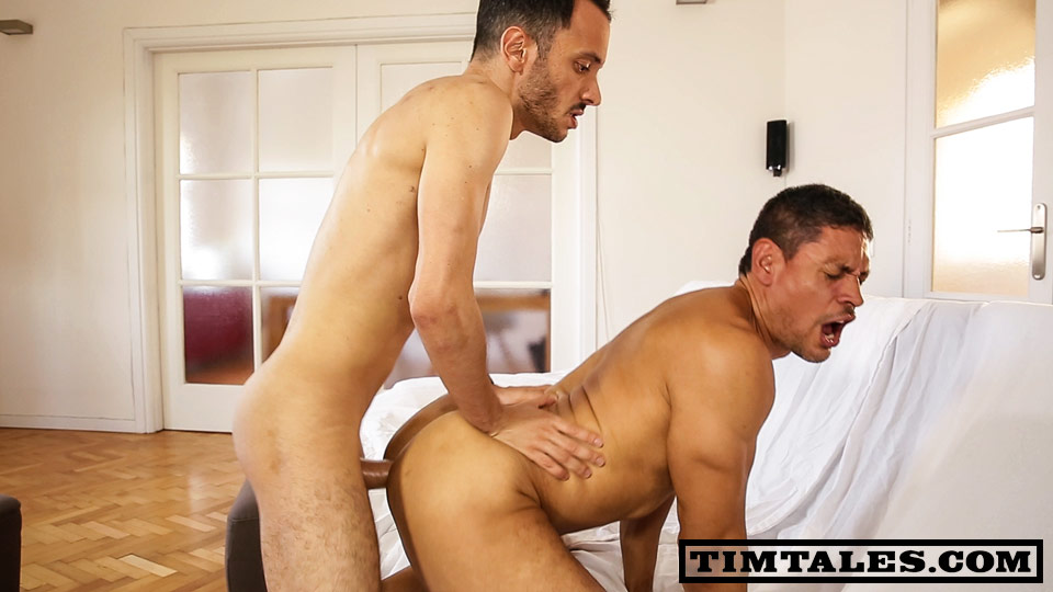 TimTales Esteban and John Rodriguez Getting Fucked Bareback By A Big Uncut Cock Amateur Gay Porn 03 TimTales: Esteban and John Rodriguez   Big Uncut Cock Bareback