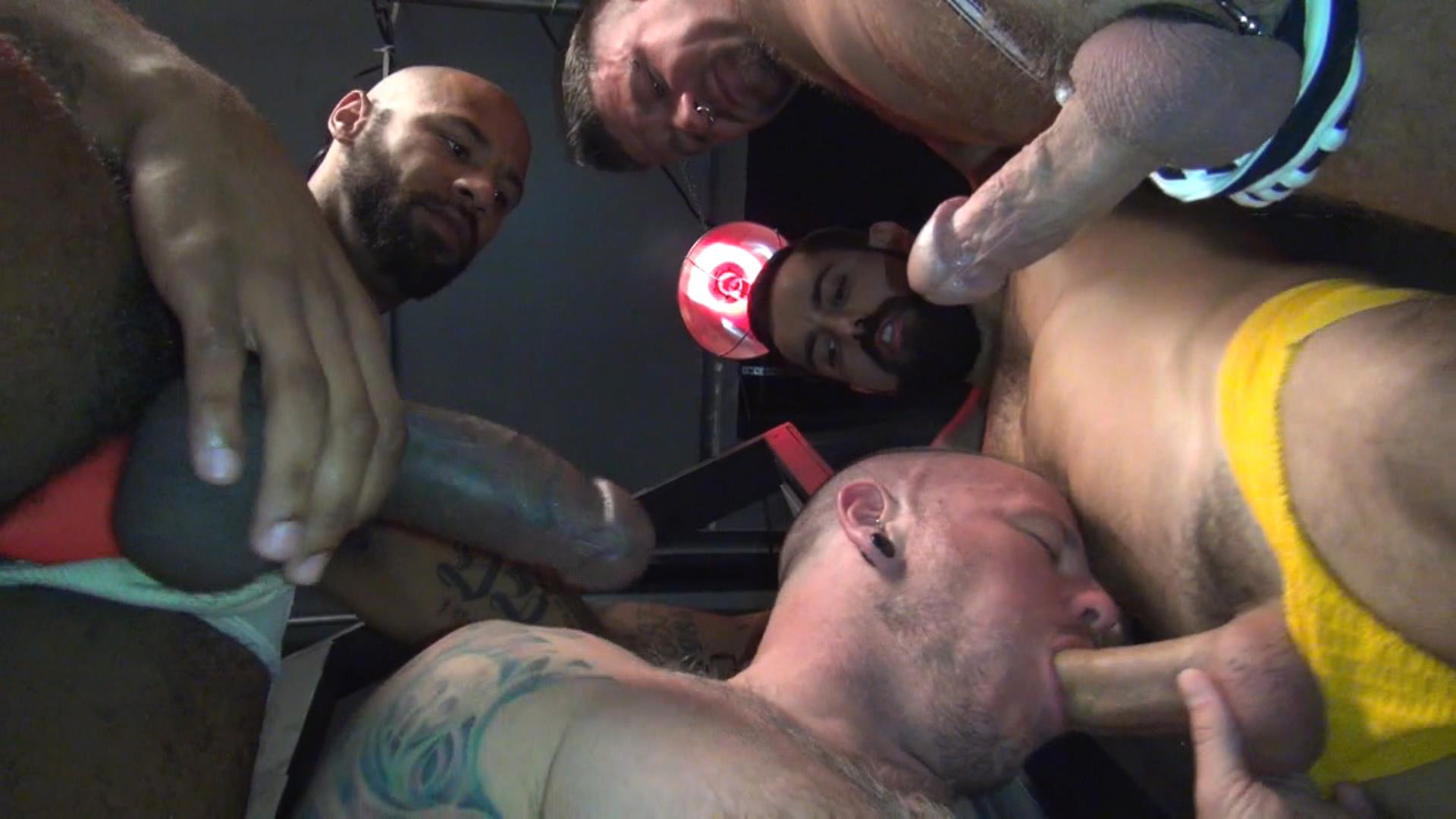 Raw-Fuck-Club-Raw-Fuck-Club-Max-Cameron-and-Christian-Matthews-and-Kory-Mitchel-and-Dean-Brody-Bareback-Bathhouse-Amateur-Gay-Porn-5 Four Way Bareback Fucking And Cum Fest At The Bathhouse