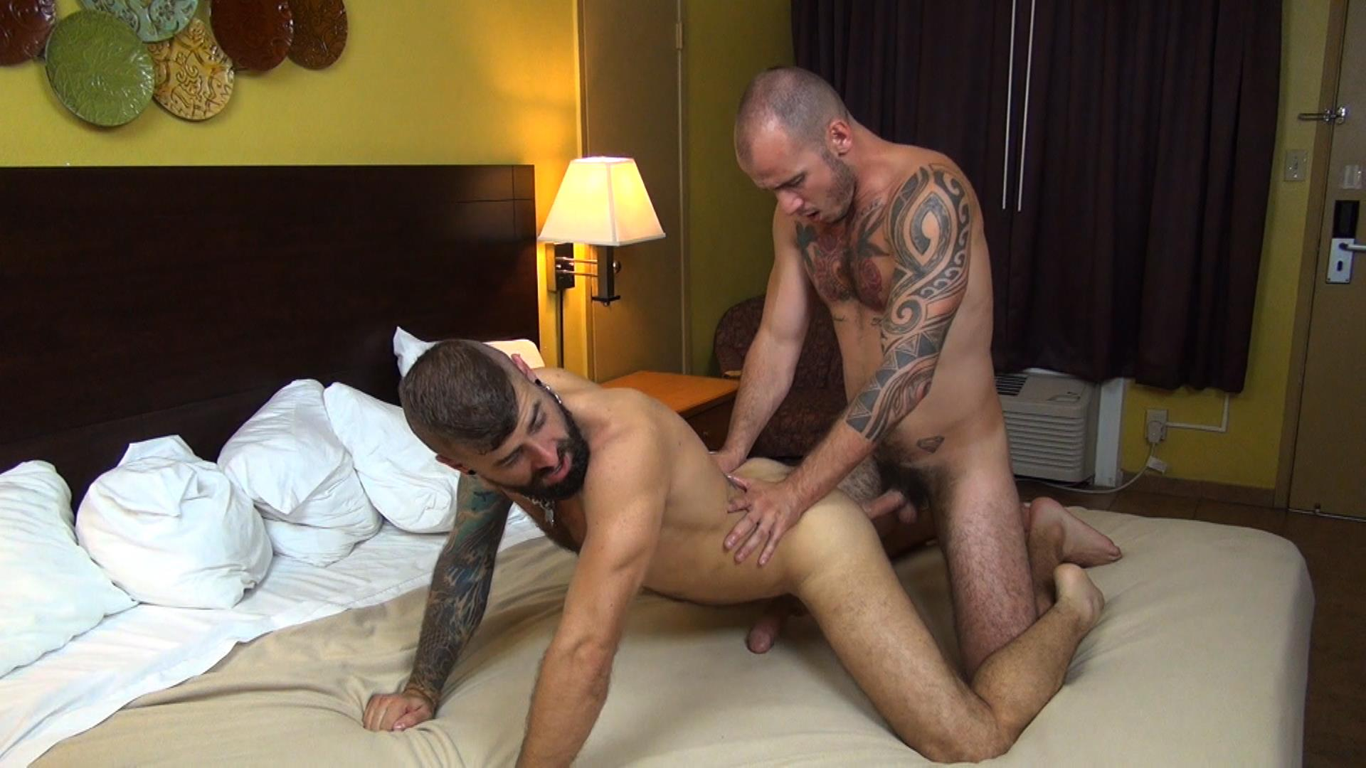 Raw Fuck Club Jon Shield and Cam Christou Guys Fucking Bareback Sex Tape In A Sleazy Hotel Amateur Gay Porn 6 Jon Shield and Cam Christou Fucking Bareback In A Sleazy Motel