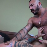 Dudes-Raw-Alessio-Romero-and-Nick-Cross-Hairy-Latino-Muscle-Daddy-Barebacking-Amateur-Gay-Porn-43-150x150 Hairy Muscle Daddy Alessio Romero Barebacking Nick Cross