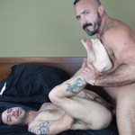 Dudes-Raw-Alessio-Romero-and-Nick-Cross-Hairy-Latino-Muscle-Daddy-Barebacking-Amateur-Gay-Porn-67-150x150 Hairy Muscle Daddy Alessio Romero Barebacking Nick Cross