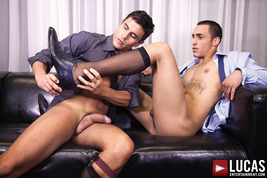 Lucas Entertainment Rafael Carreras and Rico Romero Big Uncut Cock Bareback Amateur Gay Porn 06 Rafael Carreras Barebacking Rico Romero With His Big Uncut Cock
