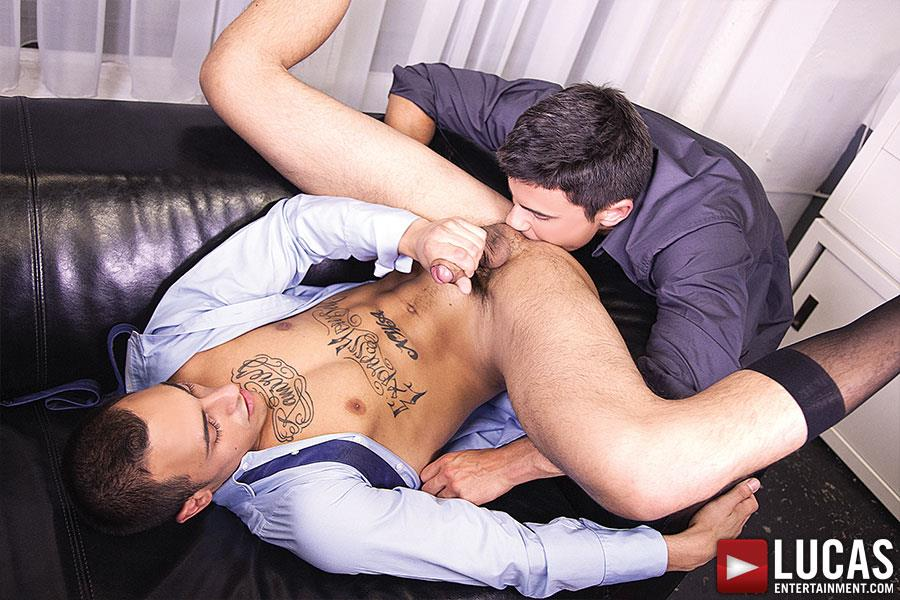Lucas-Entertainment-Rafael-Carreras-and-Rico-Romero-Big-Uncut-Cock-Bareback-Amateur-Gay-Porn-10 Rafael Carreras Barebacking Rico Romero With His Big Uncut Cock