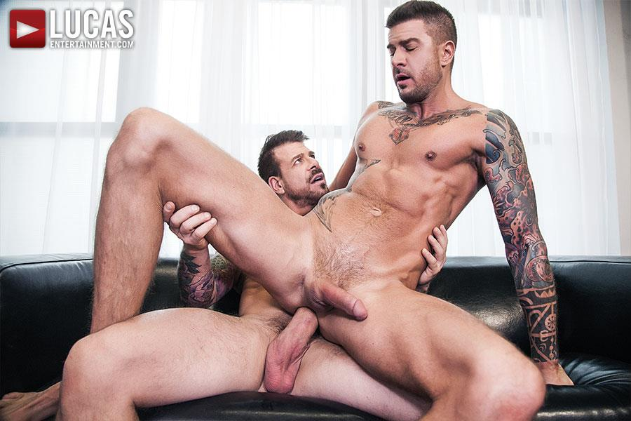Lucas-Entertainment-Rocco-Steele-and-Dolf-Dietrich-Big-Cock-Barback-Muscle-Hunks-Amateur-Gay-Porn-07 Rocco Steele Breeding Dolf Dietrich With His Massive Cock