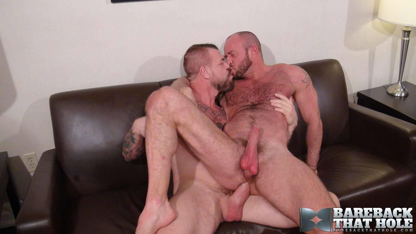 Bareback-That-Hole-Rocco-Steele-and-Matt-Stevens-Hairy-Muscle-Daddy-Bareback-Amateur-Gay-Porn-16 Hairy Muscle Daddy Rocco Steele Breeding Matt Stevens