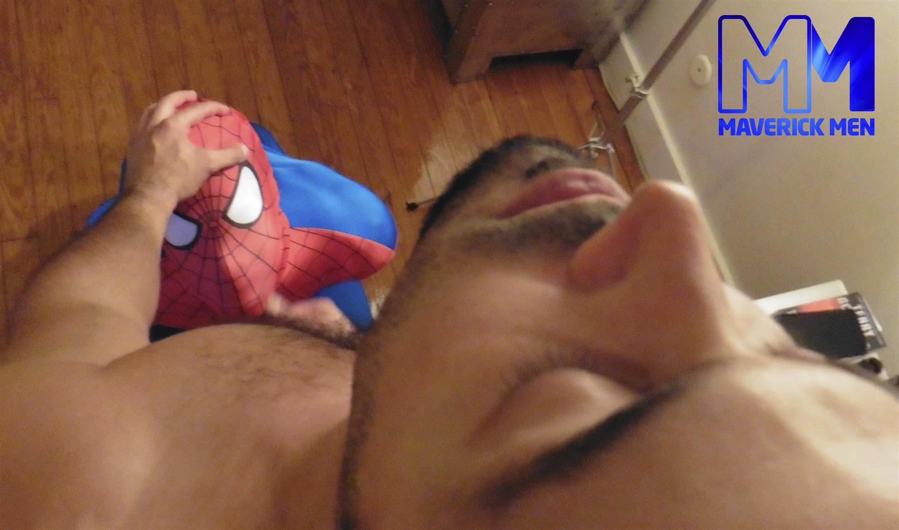 Maverick Men Spiderman With A Big Black Dick Bareback Threesome Amateur Gay Porn 12 Happy Halloween... Did You Know That Spiderman Has A Big Black Dick?