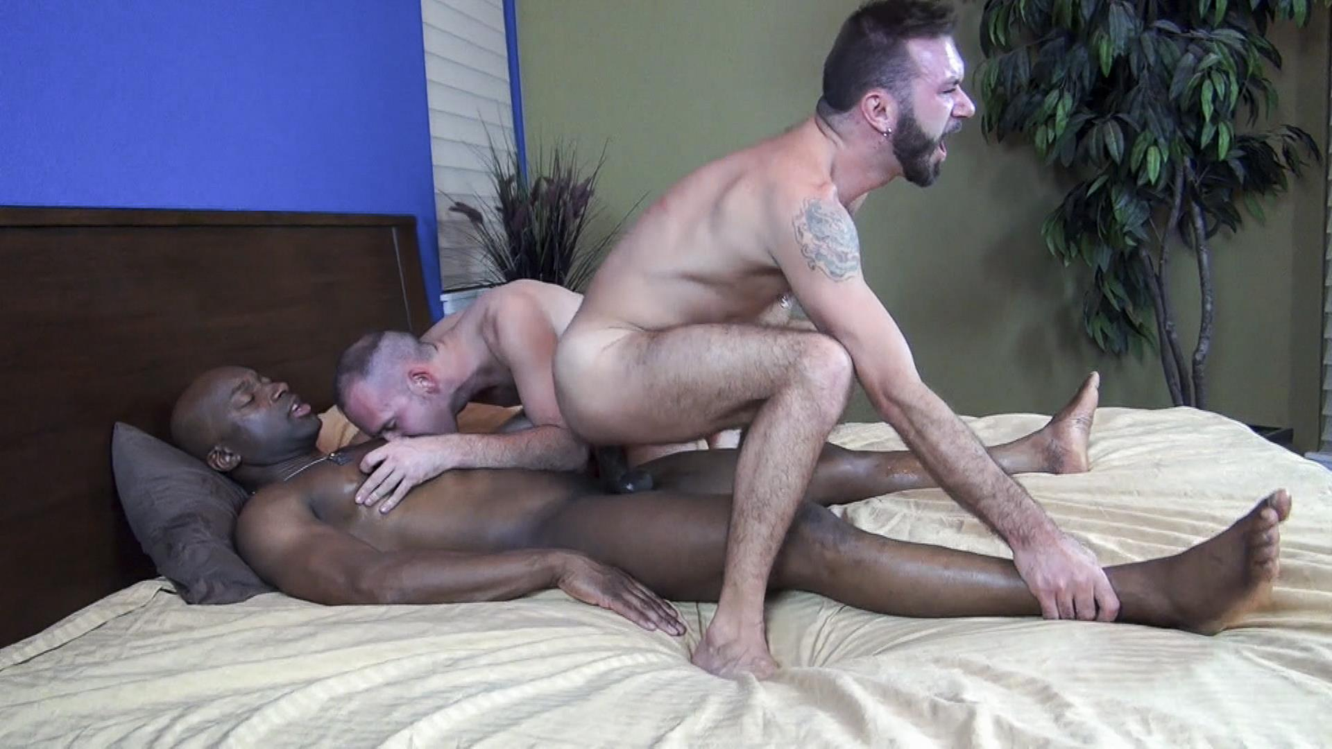 Raw Fuck Club Ethan Palmer and Champ Robinson and Trit Tyler Bareback Interrical Amateur Gay Porn 08 Champ Robinson Shares His Big Black Dick With 2 White Guys