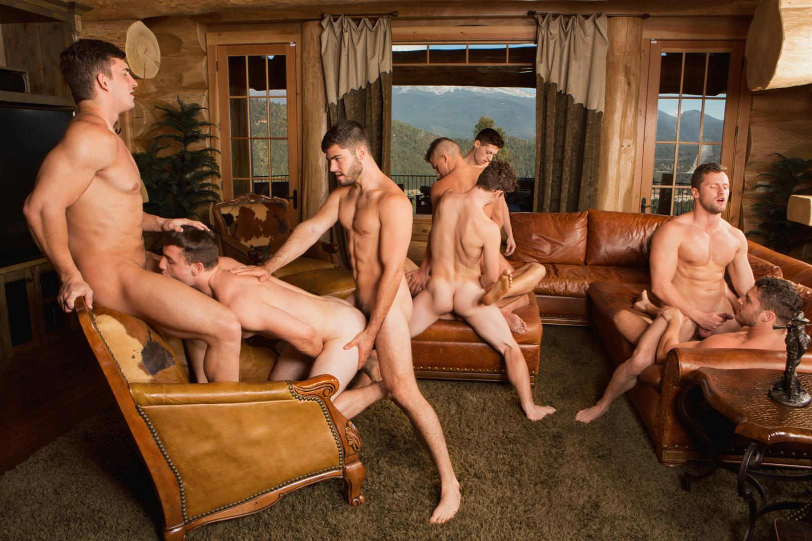 Sean Cody Winter Getaway Day 5 Big Dick Hunks Fucking Bareback Amateur Gay Porn 14 Sean Cody Takes The Boys On A 8 Day Bareback Winter Getaway