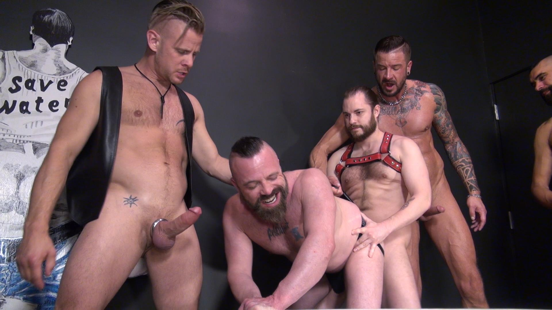 Muscly Bishop Barebacks