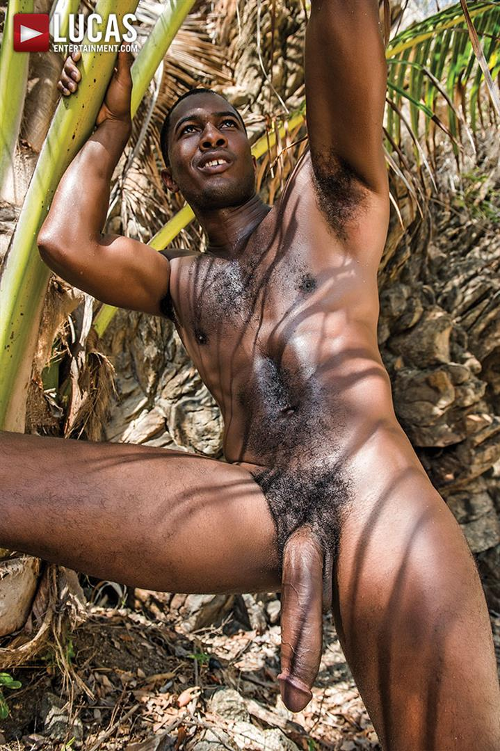 Lucas Entertainment Sean Xavier and Mark Edwin Interracial Bareback Big Black Dick Amateur Gay Porn 32 Getting Fucked Bareback By Sean Xaviers Big Black Cock