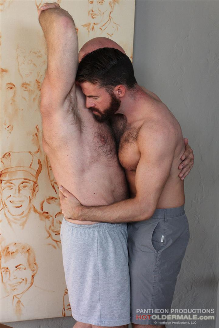 Hot Older Male Conor Harris and Brendan Patrick Hairy Muscle Daddy bareback Amateur Gay Porn 04 Hairy Muscular Daddy Conor Harris Barebacks Brendan Patrick