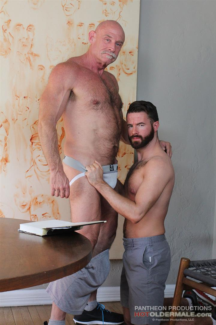 Hot Older Male Conor Harris and Brendan Patrick Hairy Muscle Daddy bareback Amateur Gay Porn 06 Hairy Muscular Daddy Conor Harris Barebacks Brendan Patrick