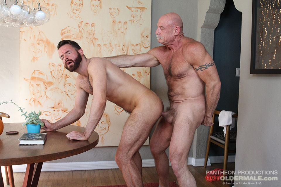 Hot Older Male Conor Harris and Brendan Patrick Hairy Muscle Daddy bareback Amateur Gay Porn 15 Hairy Muscular Daddy Conor Harris Barebacks Brendan Patrick