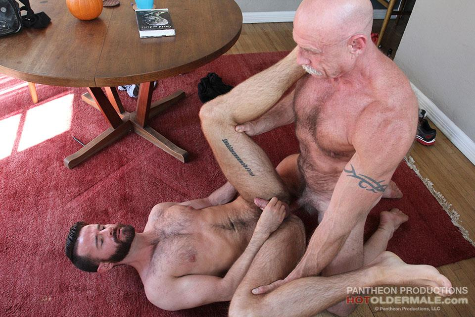 Hot Older Male Conor Harris and Brendan Patrick Hairy Muscle Daddy bareback Amateur Gay Porn 19 Hairy Muscular Daddy Conor Harris Barebacks Brendan Patrick
