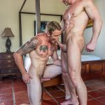 Lucas Entertainment Shawn Reeve and Tomas Brand Bareback Daddy Sex 06 150x150 Bareback Riding A Thick Uncut Daddy Dick