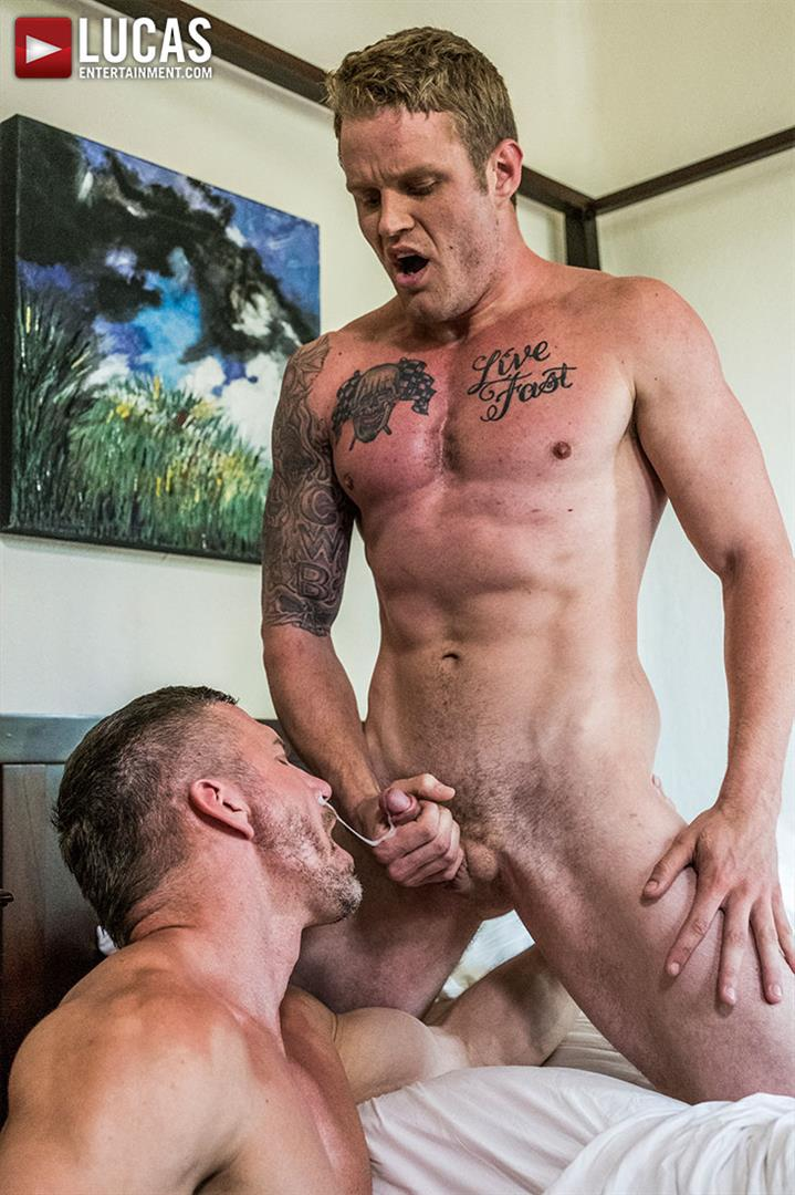 Lucas-Entertainment-Shawn-Reeve-and-Tomas-Brand-Bareback-Daddy-Sex-16 Bareback Riding A Thick Uncut Daddy Dick