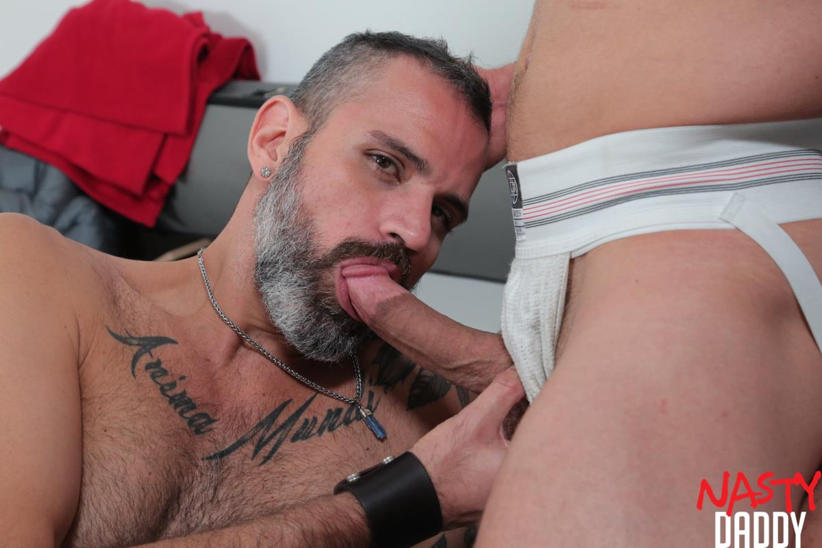 Nasty-Daddy-Nate-Grimes-and-Carlos-Ventura-Breeding-By-Big-Latin-Daddy-Cock-10 Nates Grimes Gets Fucked Raw By A Hot Latin Daddy