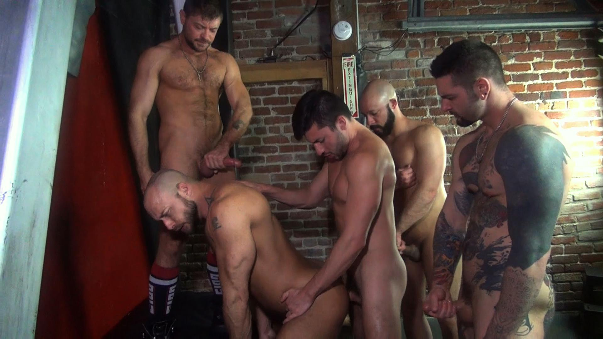 Raw-Fuck-Club-Dylan-Strokes-and-Scott-DeMarco-and-Jack-Andy-and-Jessie-Colter-and-Teddy-Bryce-Bareback-Sex-Video-01 Jessie Colter's First Bareback Gangbang At A Sleazy Bathhouse