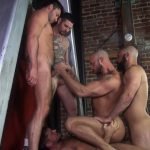 Raw-Fuck-Club-Dylan-Strokes-and-Scott-DeMarco-and-Jack-Andy-and-Jessie-Colter-and-Teddy-Bryce-Bareback-Sex-Video-04-150x150 Jessie Colter's First Bareback Gangbang At A Sleazy Bathhouse