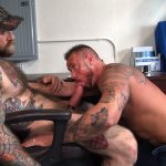 Raw-Fuck-Club-Jack-Dixon-and-Michael-Roman-Hairy-Muscle-Daddy-Bareback-Gay-Sex-Video-07-150x150 Taking A Raw Ride On Jack Dixon's Big Fat Daddy Cock