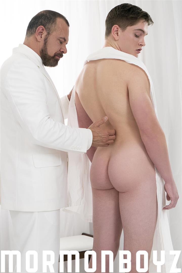 Mormon-Boyz-President-Ballard-and-Elder-Edwards-Thick-Dick-Daddy-Barebacking-Boy-Gay-Sex-01 Thick Dick Mormon Daddy Bareback Fucks A Young Mormon Missionary