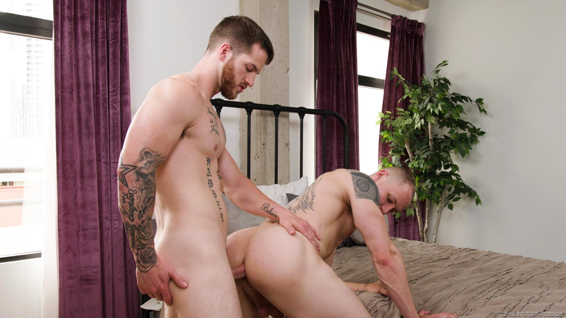 Next-Door-Buddies-Trevor-Laster-and-Quentin-Gainz-Big-Cocks-Bareback-Flip-Gay-Sex-Video-14 Quentin Gainz Bareback Flips With His New Boy Toy Trevor Laster