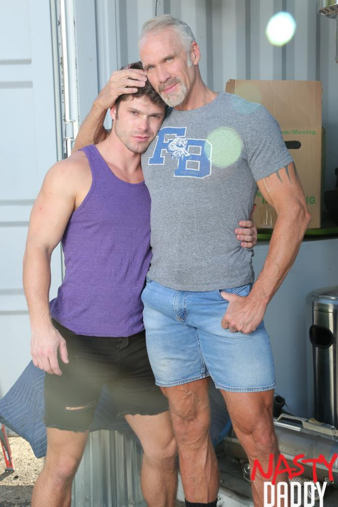 Nasty-Daddy-Dallas-Steele-and-Devin-Franco-Big-Dick-Daddy-Bareback-Gay-Sex-Video-01 Pig Trainer Daddy Dallas Steele Gives Devin Franco Hard Lessons